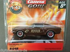 Carrera GO 61248 Ford Mustang '67 Custom 2 NEU