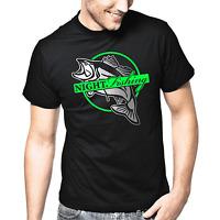 Night Fishing Nightfishing Angler Angeln Fisch Fischer Geschenk Sprüche T-Shirt