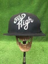Trukfit Fly High Rare Black White Flat Bill SnapBack Hat Cap Fast Shipping