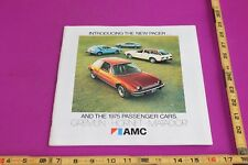 1975 AMC Gremlin Hornet Matador Brochure. 43 pgs. See pics for condition.