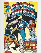 Captain America Comic  Marvel Comics #411 January 1993 Issue VF/NM