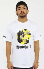 Hall Of Fame HOF Pirate Smoker T Shirt Tee in White Size Medium