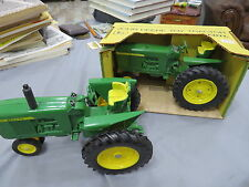 John Deere Ertl 3020 Toy Tractor Green Yellow Box Rare WITH 2nd Tractor included