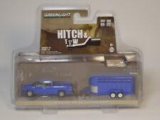 Greenlight 1:64 2016 Ford F-150 And Livestock Trailer Diecast model car