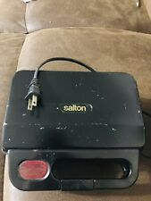 Salton Vintage Electric Sandwich Maker Press.