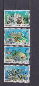 virgin islands 1978 Sc 337 coral,set       q1320
