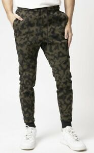 Nike Tech Fleece Printed Sportswear Camo Men Track Pants Bottoms Trouser Large