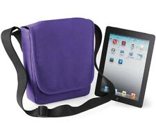 iPad / Tablet Padded Protective Cover Carry Case Sleeve Shoulder Bag Purple