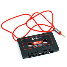 Car Cassette Casette Tape 3.5 mm AUX Audio Adapter For MP3 MP4 Player CD Radio