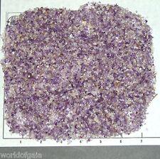 AMETHYST BANDED 1-3mm tumbled, 1/2 lb bulk xxmini sand, Namibia stones