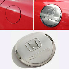 1pcs For Honda Civic 2006-2011 stainless steel Gas Cap Fuel Tank Cover trim