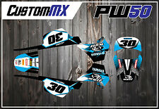 PW50 Kit Graphique 1981-2012 Peewee PW 50 Graphique Décalque Kit Autocollant MX stickers