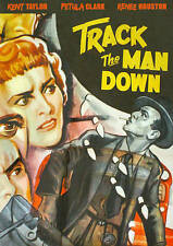 DVD: Track the Man Down, . New Cond.: Taylor, Kent, Rose, George, Rilla, Walter,