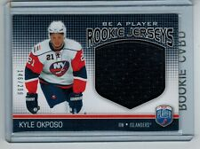 2008-09 BAP BE A PLAYER KYLE OKPOSO ROOKIE GAME-WORN JERSEY 146/299 SABRES
