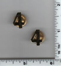 NEW YORK UNDERCOVER Television Show - NYC 4th Precinct Gold Collar Brass Set