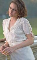 Coco CHANEL Silk Dress Paris Couture Gown Kristen Stewart Wedding Twilight 1930s