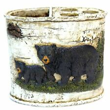 Marco Black Bear Bathroom Accessories (Toothbrush Holder)