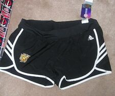 NEW NCAA Kennesaw State St Owls Women Woven Running Shorts L Large ADIDAS NWT