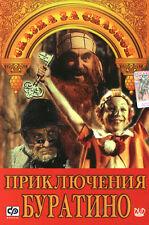 PRIKLYUCHENIYA BURATINO RUSSIAN CHILDREN FAIRY TALE MOVIE BRAND NEW DVD NTSC