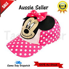2018 NEW Embroidered Disney Minnie Mouse Minions Gift Kids Girls Hats Caps  Xmas b36593683086