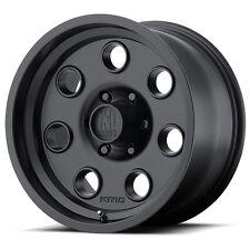 15 inch Black Wheels Rims Jeep Wrangler Ford Ranger Mustang Mopar Dodge 5 Lug