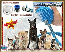 Pet Shower Bathing Grooming Tool, Head Brush with 3 Different Adapters Atment