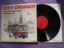 "The City of Coventry Band - City Cruiser. 12"" Vinyl Album (12A880)"