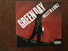 Green Day  cd Bullet in a Bible promo sticker 2005