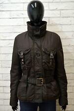 Giubbotto Giacca Donna PEUTEREY Taglia 44 Cappotto Giubbino Cintura Jacket Woman