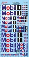 Petroleum products  09-1  MOBIL sponsors Decal 1/18 (195x100 mm) PP09-18-1