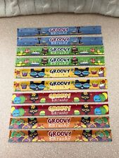 New 10 Pete The Cat Groovy Birthday Party Slap Bracelets Party Favors Kids Ideas