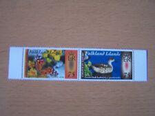 FALKLAND ISLANDS,COLOUR IN NATURE PART TWO. PAIR OF 75P NATURE,U/M.EXCELLENT.