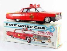 Japon FIRE CHIEF CAR    / jouet ancien antique toy