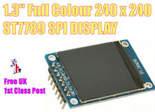 "1.3"" ST7789 240x240 SPI Colour IPS TFT LCD Screen Display STM32 Arduino UK STOCK"