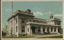 1905 NEWPORT NEWS VA Government Building Horse Buggy  Detroit postcard