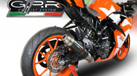 KTM RC125 2017/18 EXHAUST DEEPTONE CARBON LOOK BY GPR EXHAUSTS ITALY