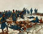 Frederic Remington Battle Of War Bonnet Creek Canvas Print 16 x 20     #3871