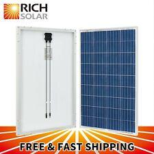 100W Polycrystalline Solar Panel 12 Volt Battery Charging for RV Boat