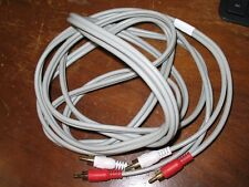 Composite AV 2 RCA Cable Male To Male White & Red 1000944-2 Audio Video