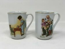 Vintage 1981 Norman Rockwell Museum Mugs (set of 2)