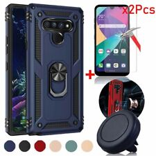For LG k31/Aristo 5/Fortune 3/k30 2020 Hard Case Cover/Tempered Glass/Car Mount
