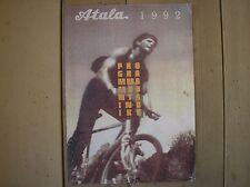 ATALA PROGRAMMA 1992 MTB CATALOGO PRODUZIONE MOUNTAIN BIKE UP TOP ACCESSORI