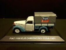 FIAT 1100 ELR 1951 Camioncino Yoga Diecast Italian Van in scale 1/43