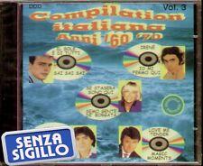 """COMPILATION ITALIANA ANNI '60-'70 VOL.3""""CD NUOVO DECIBEL ITALY 8023089402031"""