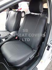 Para adaptarse a un Toyota Avensis 2012 Estate, cubiertas de asiento de coche, cuero sintético negro