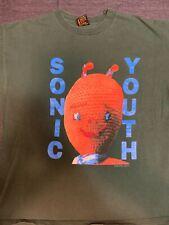 Vintage Authentic SONIC YOUTH XL Grunge Nirvana Dinosaur Jr Rare 1992