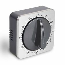 NEW Mechanical Kitchen Timer Loud Alarm Sound with Magnet  60 Minutes Countdown
