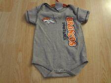 Infant/Baby Denver Broncos 3/6 Mo Creeper One-Piece (Gray)