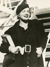 Actrice Rosamond Pinchot, 1938, vintage silver print vintage silver printRos