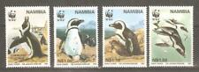 1997   NAMIBIA  -  SG  713 / 716  -  PENGUIN - WORLD WILDLIFE FUND  -  UMM